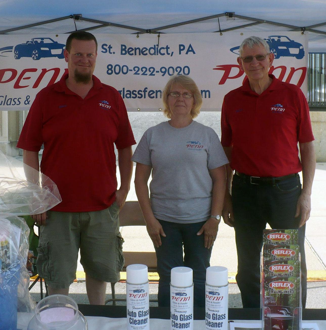 Family owned business - Penn Glass & Fender Employees