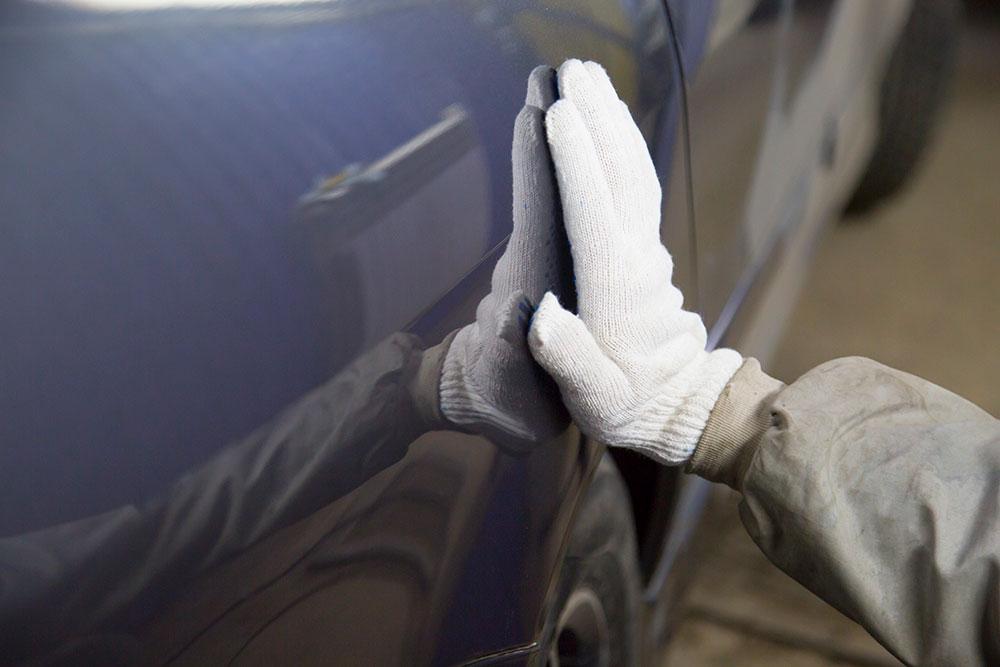 Repair of the body of a car