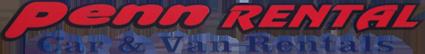Penn Rental Car & Van Rentals Logo