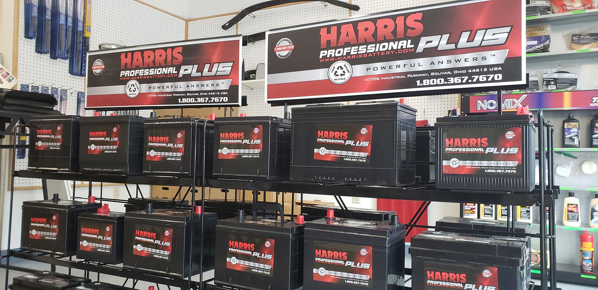 Harris Professional Plus Batteries